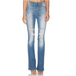 Joe's Jeans High Rise Flare in Gretchen